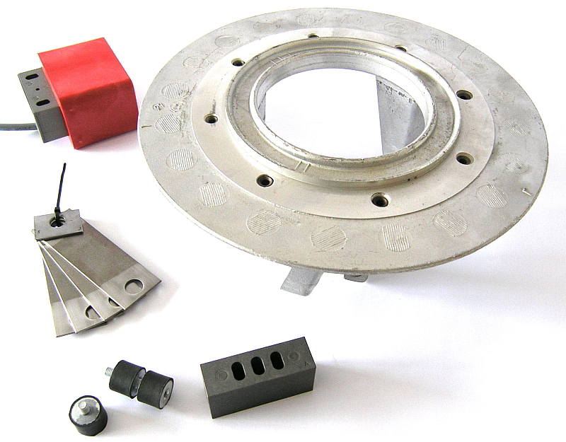 Common spare parts available from stock